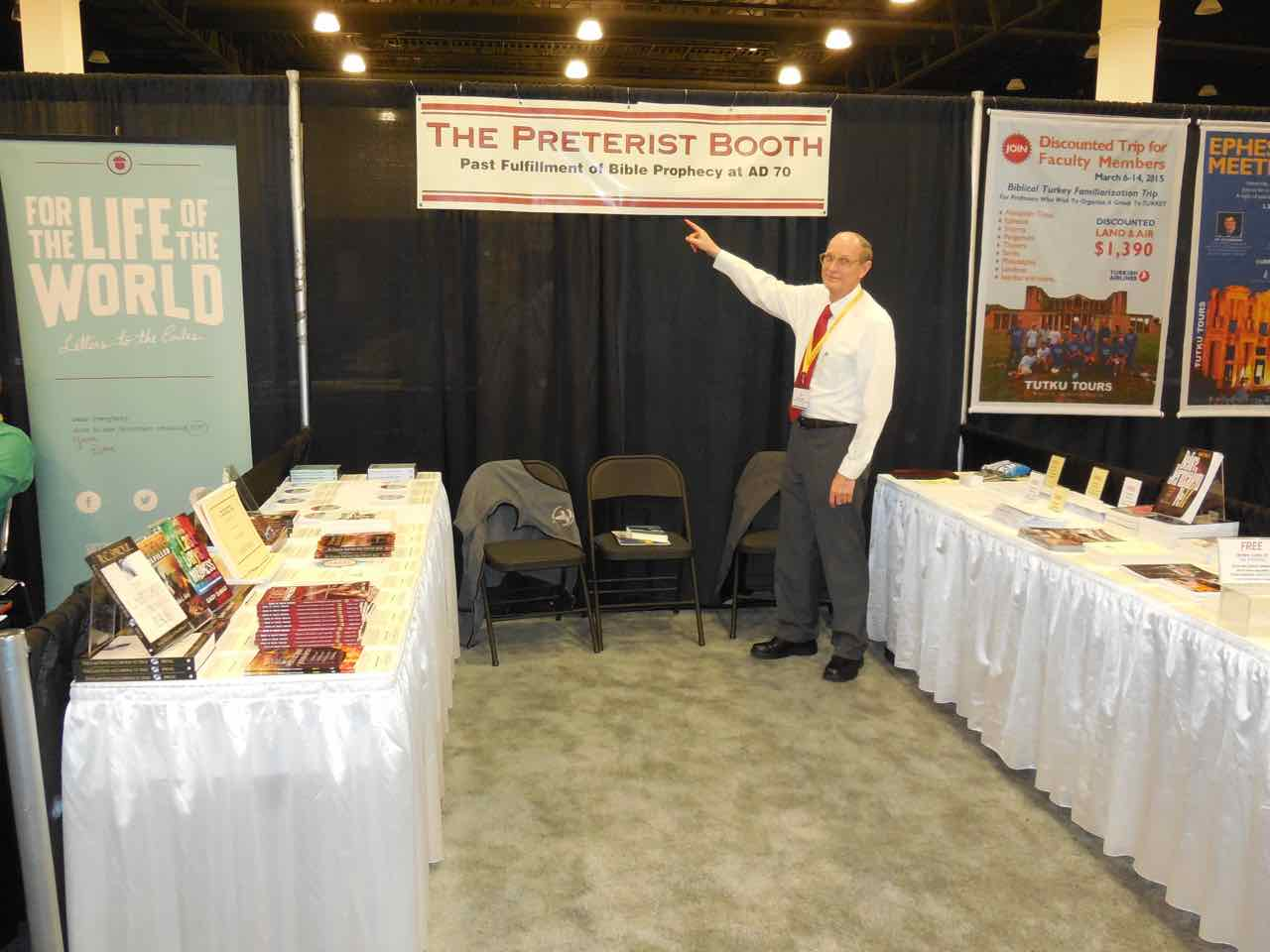 Exhibit Booth Sign