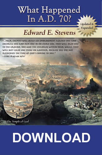 What Happened In A.D. 70? (PDF download)