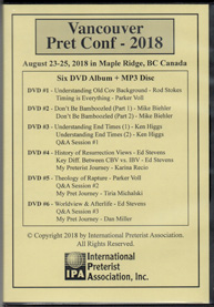 Vancouver Pret Conf 2018 (DVD album)