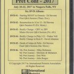 Niagara Pret Conf 2017 (DVD album)