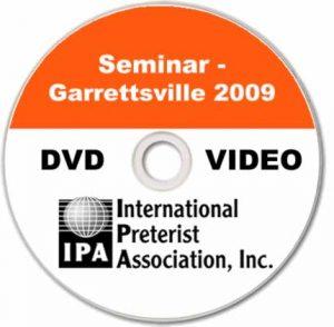Seminar – Garrettsville 2009 (4 DVDs)