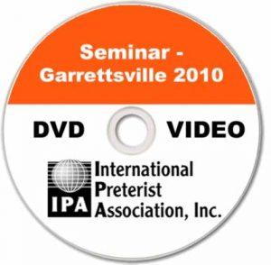 Seminar – Garrettsville 2010 (3 DVDs)