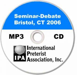 Seminar – Debate – Bristol CT 2006 (11 tracks)