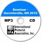 Seminar - Garrettsville 2010 (6 tracks)