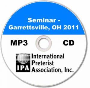 Seminar – Garrettsville 2011 (6 tracks)