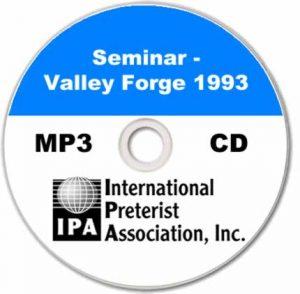 Seminar – Valley Forge PA 1993 (7 tracks)