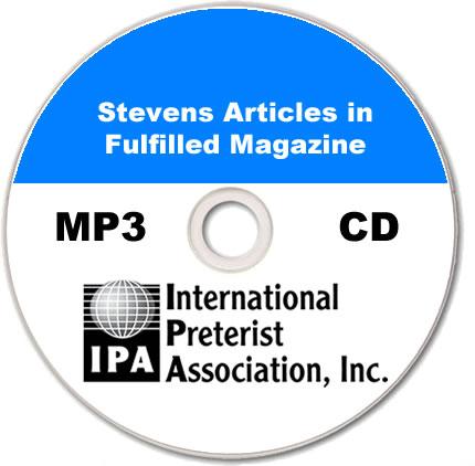 Stevens Articles in Fulfilled Magazine